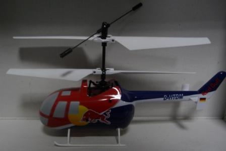 Das Bild zeigt einen RC-Koaxial-Heli für Einsteiger
