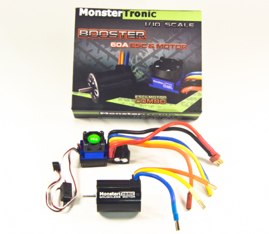 Monstertronic Brushless Combo 5900KV Best.Nr.: MT2311