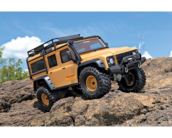 TRAXXAS TRX-4 Land Rover DEFENDER 4X4 Sand/Matt RTR 4WD LIMITED TROPHY-EDITION Best.Nr.:82056-4C