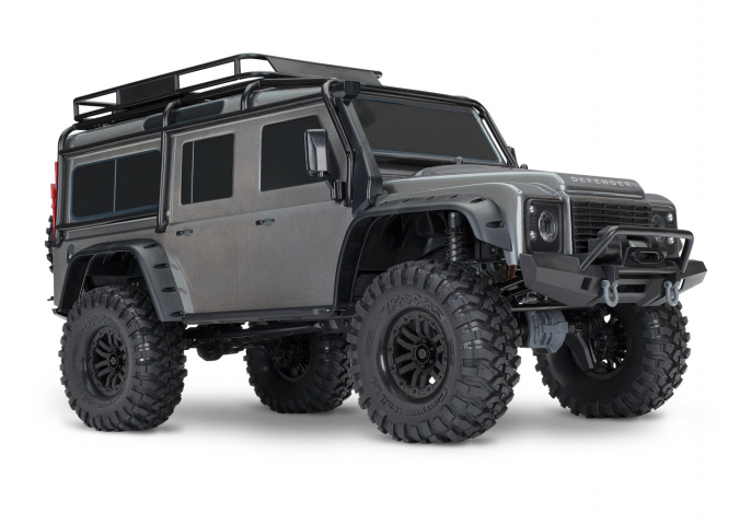 TRAXXAS TRX-4 Land Rover DEFENDER 4X4 silber RTR 4WD Best.Nr.:82056-4S