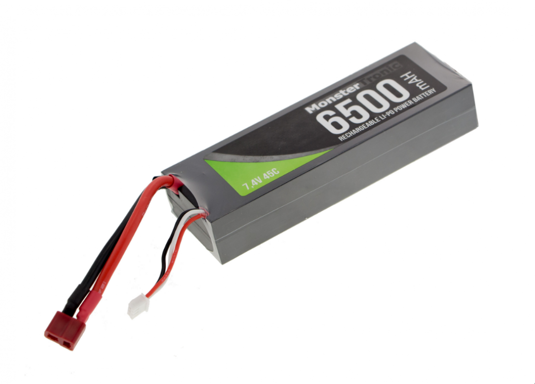 Monstertronic Lipo Akku 7,4V/6500mAh 45C Best.Nr.:A-6500